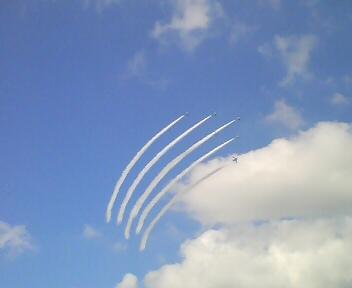 百里基地航空祭本番